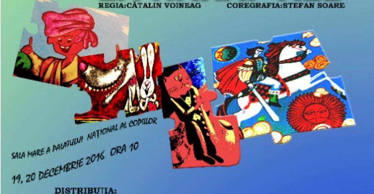 A 6-a premiera a Teatrului Stela Popescu, 'De la Chirita la Harap Alb', va avea loc inainte de Craciun