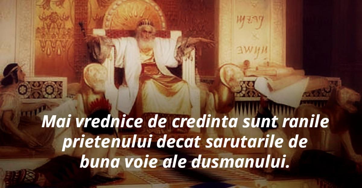 Cele mai frumoase citate de iubire: Alfabetul dragostei dupa Regele Solomon