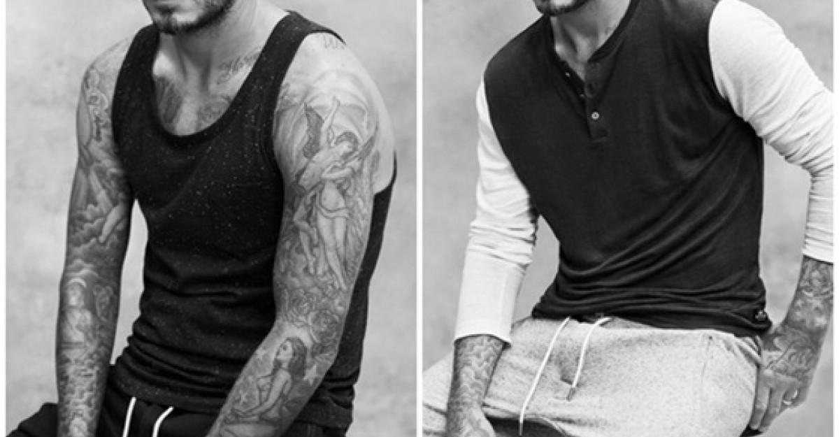 H&M isi extinde colaborarea cu David Beckham
