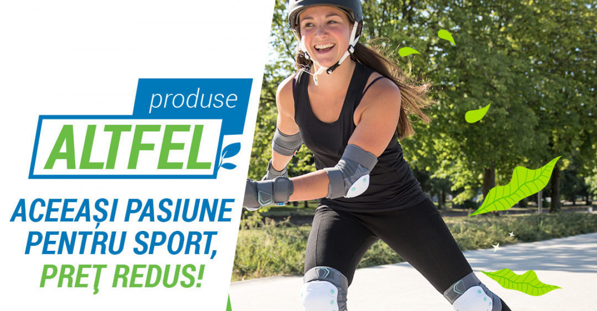 Decathlon încurajează achizițiile sustenabile prin noul program Produse ALTFEL