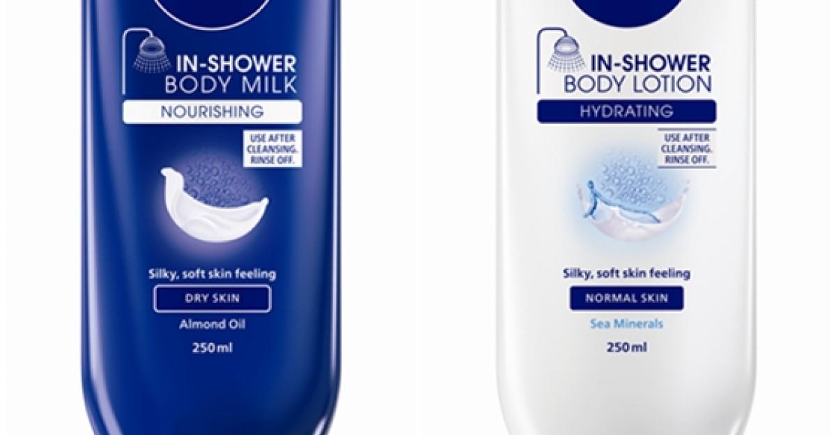 NIVEA revolutioneaza ingrijirea corpului cu noua gama de produse hidratante sub dus