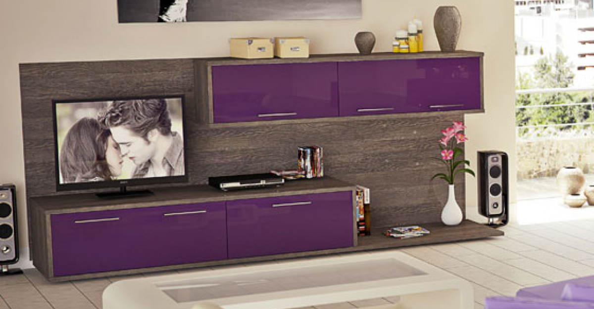 Utilizarea si semnificatiile culorii mov in amenajari interioare