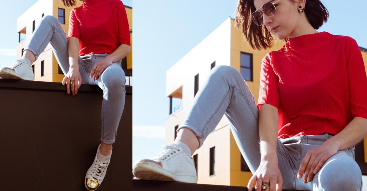 Pantofi sport cu vârful metalic: un plus de coolness pentru ținuta ta urbană