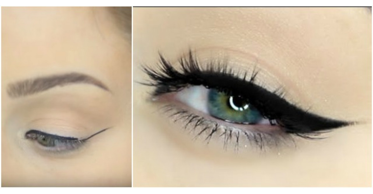 Cea mai simpla tehnica pentru a aplica PERFECT tusul pentru ochi