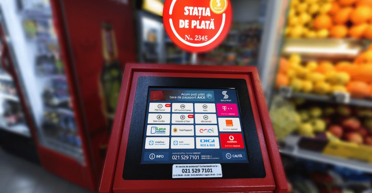 SelfPay anunță lansarea serviciului de plată a taxei de pașaport la nivel național la cele peste 5.000 de Stații de Plată