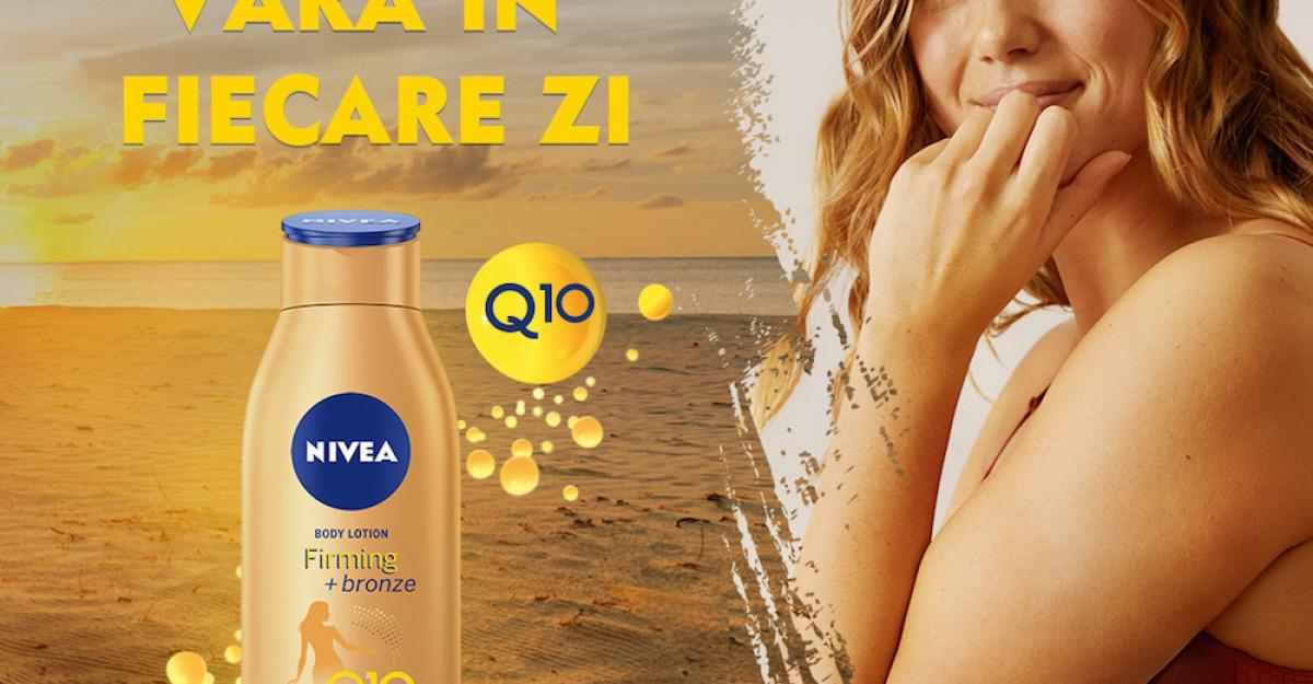 Trăiește vara în fiecare zi cu produsele pentru fermitate NIVEA Q10!