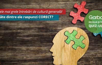 15 cele mai grele intrebari de cultura generala! La cate dintre ele raspunzi CORECT?