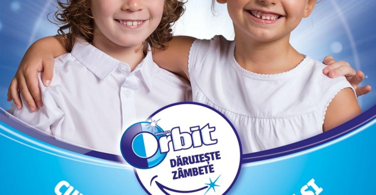 Orbit investeste in viitorul copiilor si lanseaza a treia editie a campaniei 'Orbit daruieste zambete'