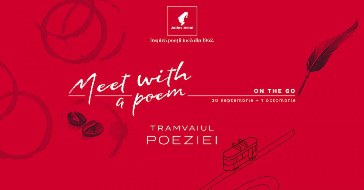 Julius Meinl se urcă în Tramvaiul Poeziei