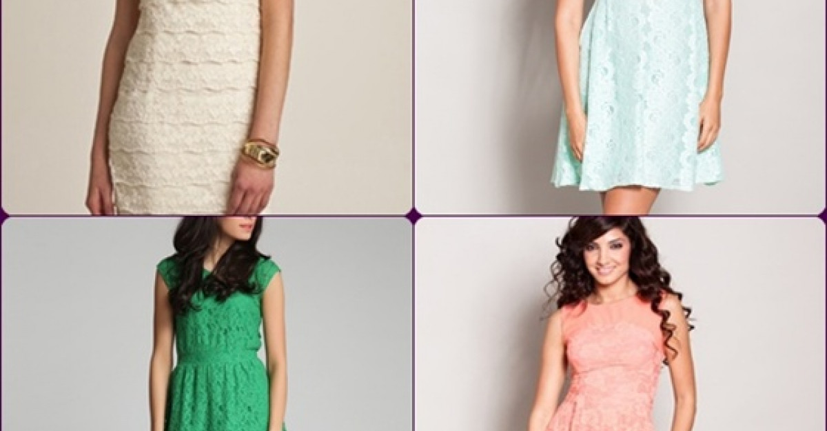 15 rochii de vara din dantela