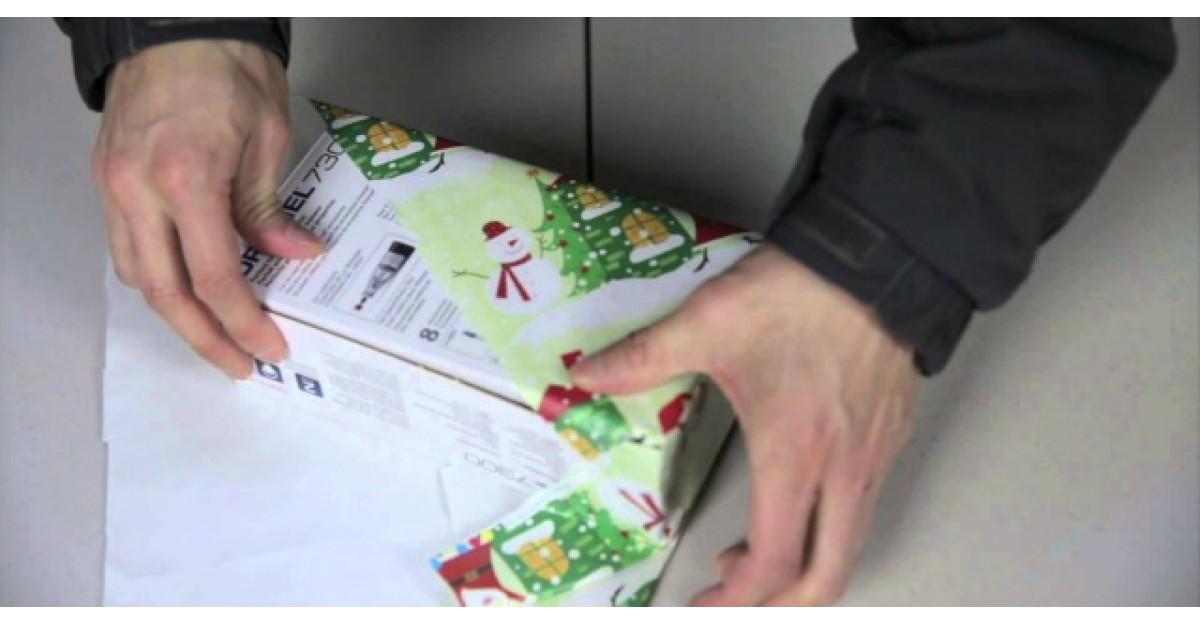 Cum impachetam un cadou in CINCI SECUNDE? Trucul japonez pe care toti trebuie sa il stim