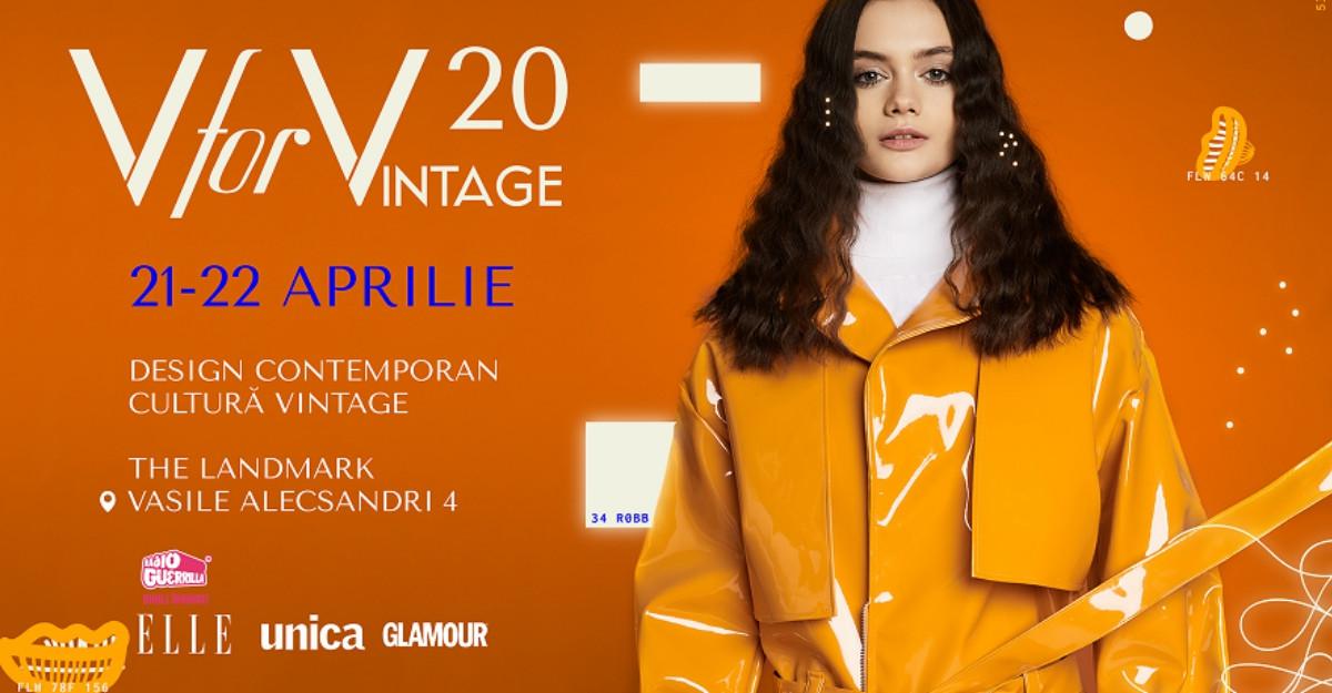 Adoptă un designer la început de drum - o campanie inițiată de V for VINTAGE