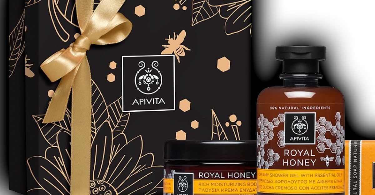 APIVITA Christmas gifts 2017: Imparte frumusete!