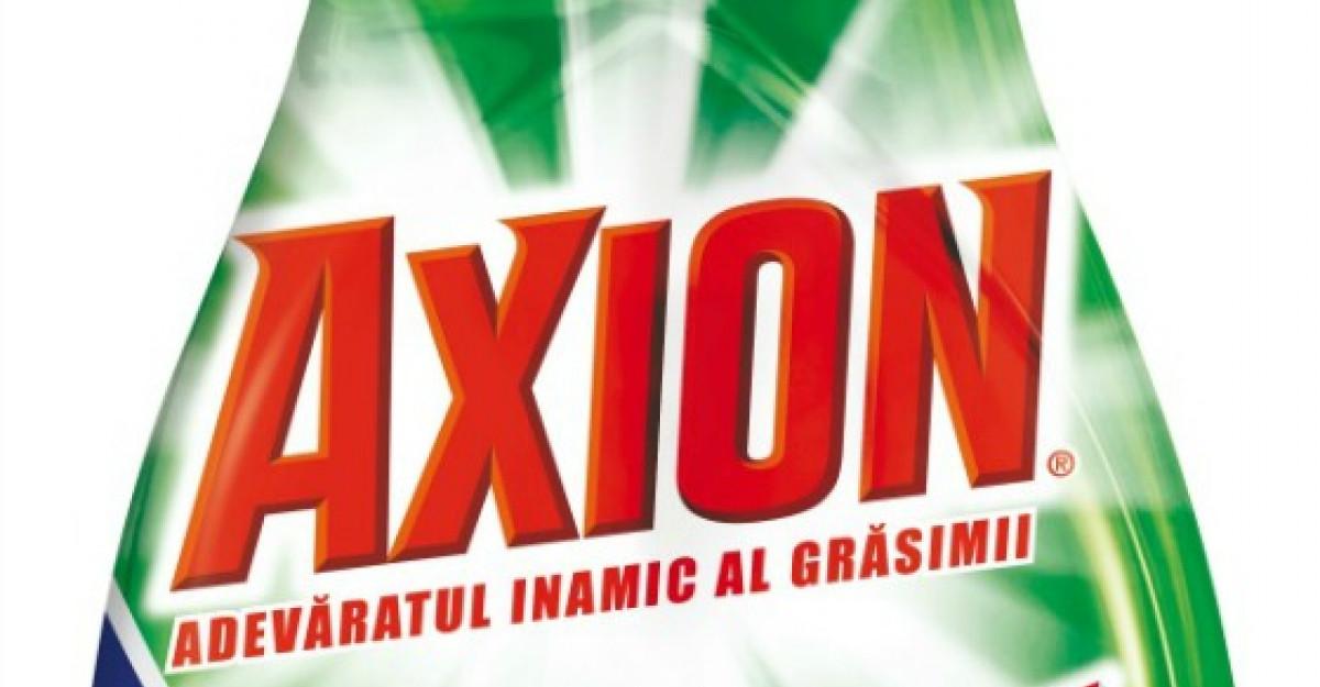 Axion stabileste un nou standard pentru spalarea vaselor, cu noua formula imbunatatita 4 in 1