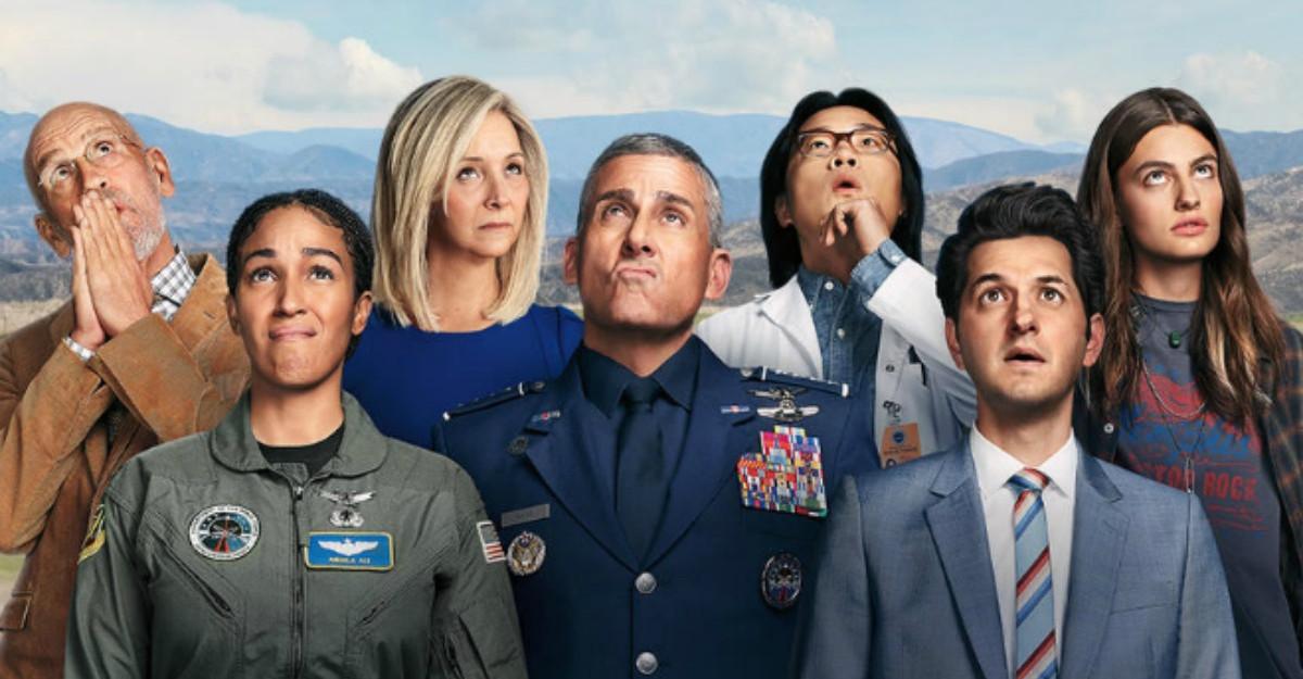Netflix lansează trailerul oficial pentru comedia Space Force