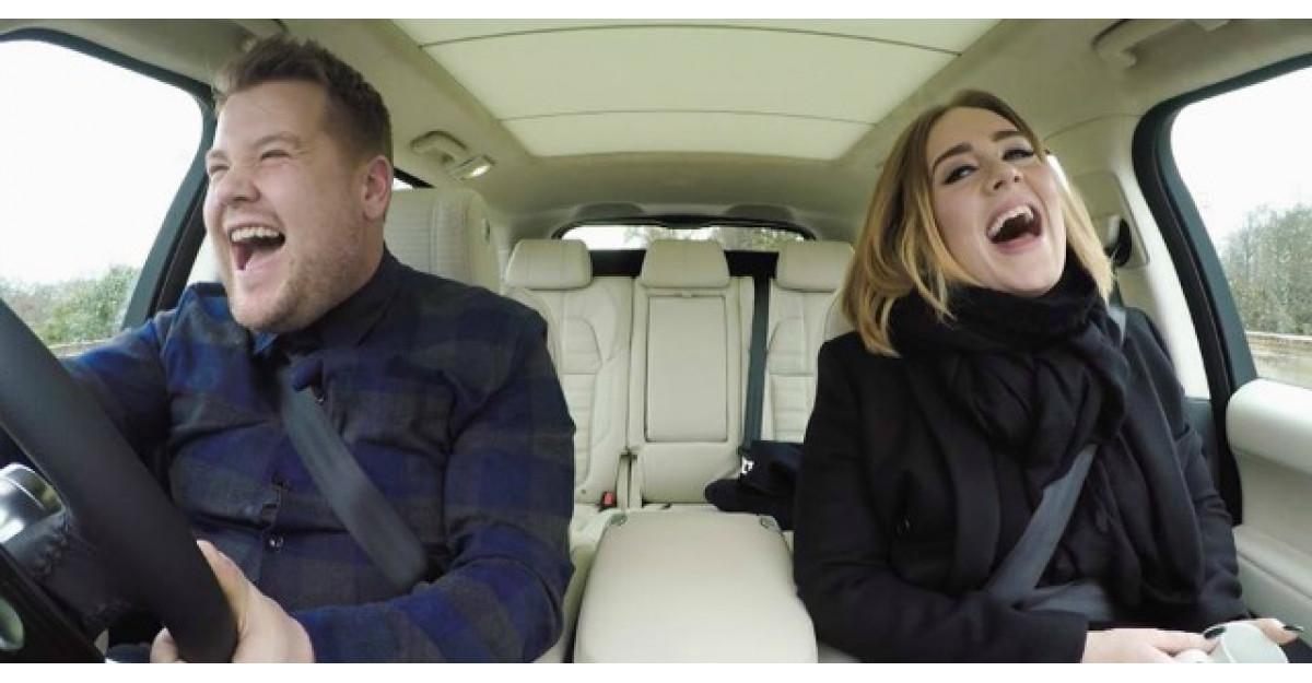 Cel mai bun clip al zilei. Adele face karaoke mai bine decat oricine
