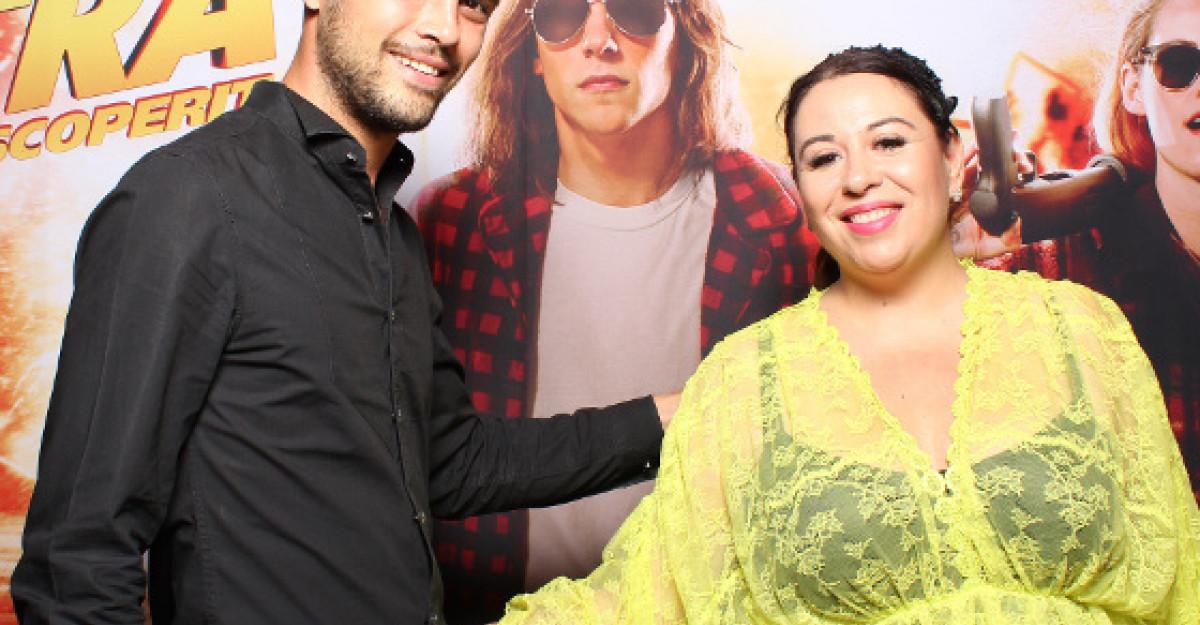 Oana Roman a sarbatorit ziua de nastere a sotului ei la Cinema City