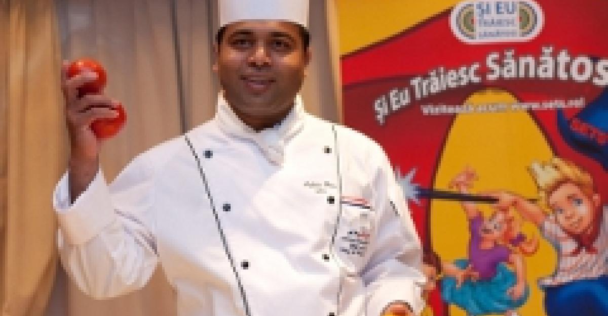 Primul ambasador al miscarii SETS: Chef Ashlie Dias