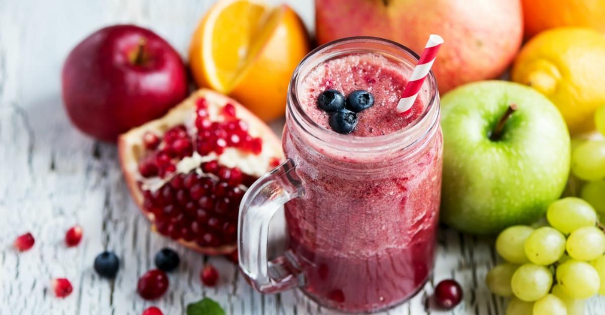 Sucul de fructe: Cum trebuie sa il consumam?