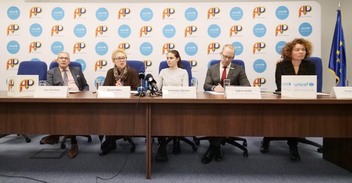 Avocatul Poporului și UNICEF susțin participarea copiilor
