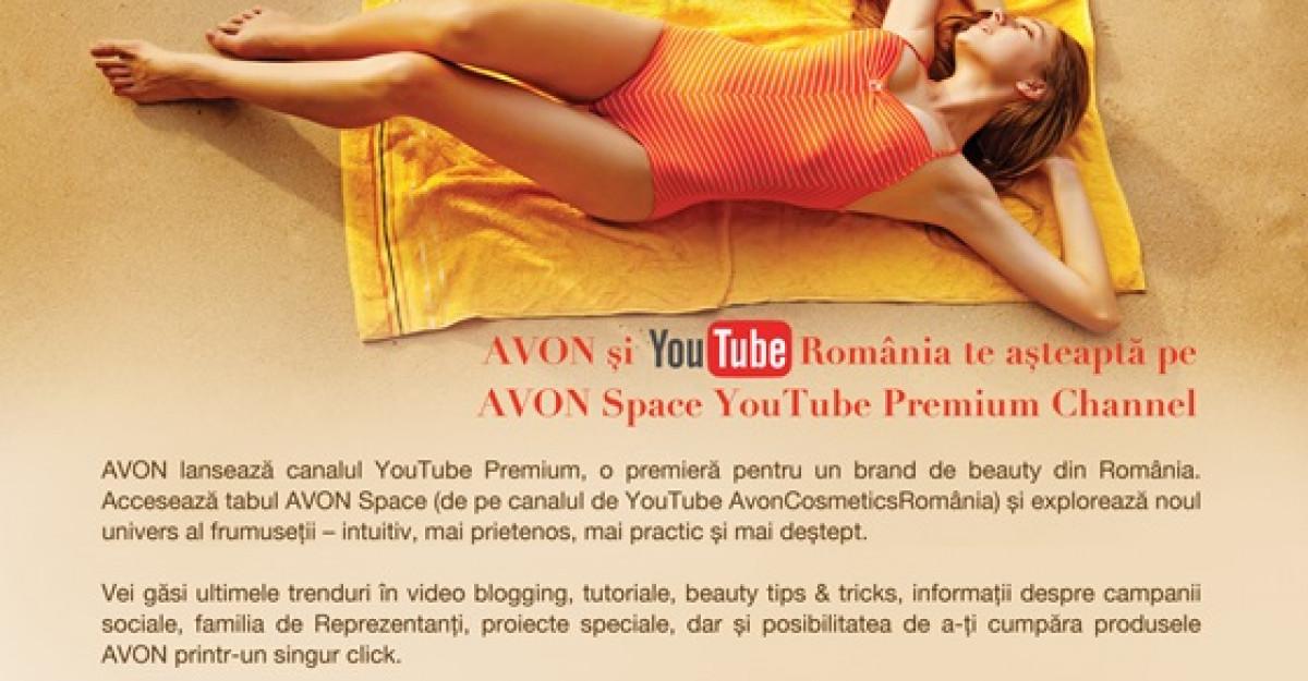 AVON lanseaza canalul YouTube Premium