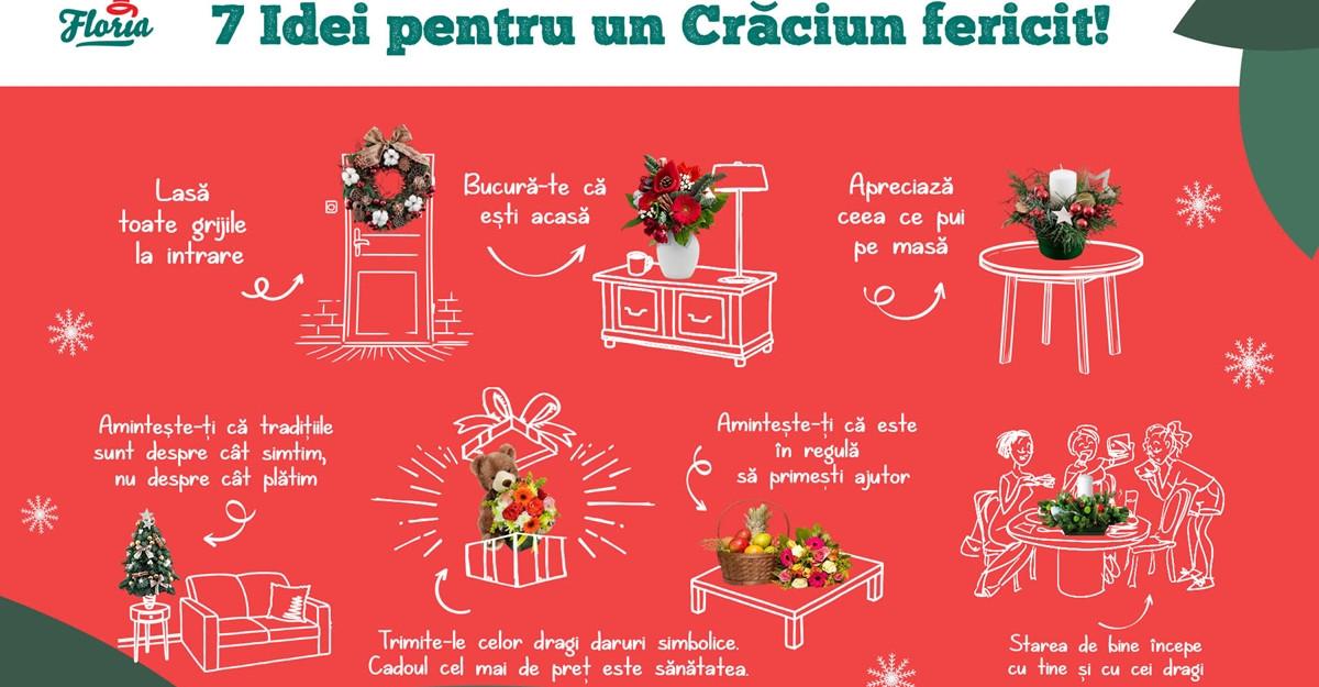 7 idei pentru un Crăciun fericit în pandemie