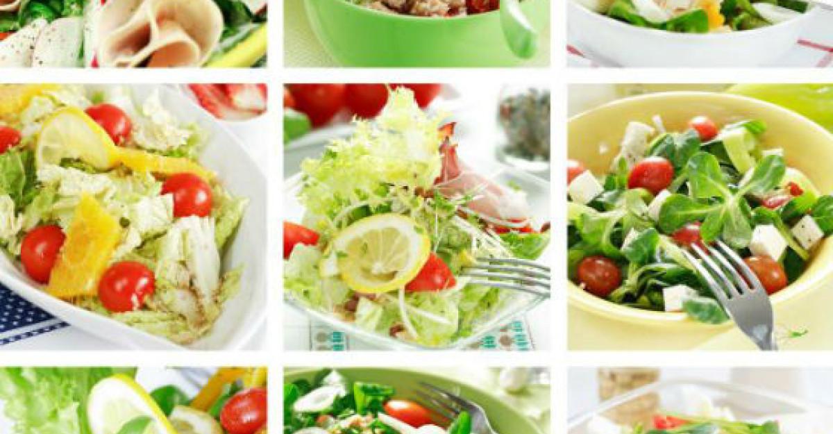 Sfaturi a la dr. Menci. Top 5 salate de vara racoritoare si sanatoase!