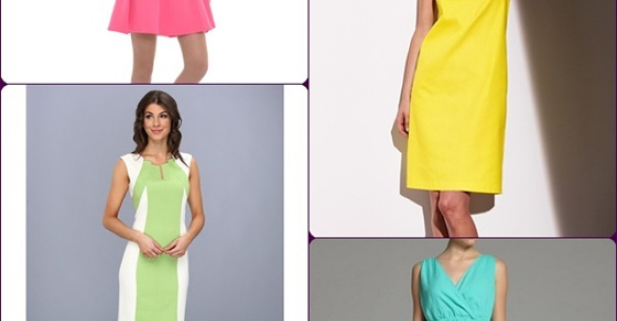Shopping: Rochii colorate pentru zile insorite de primavara
