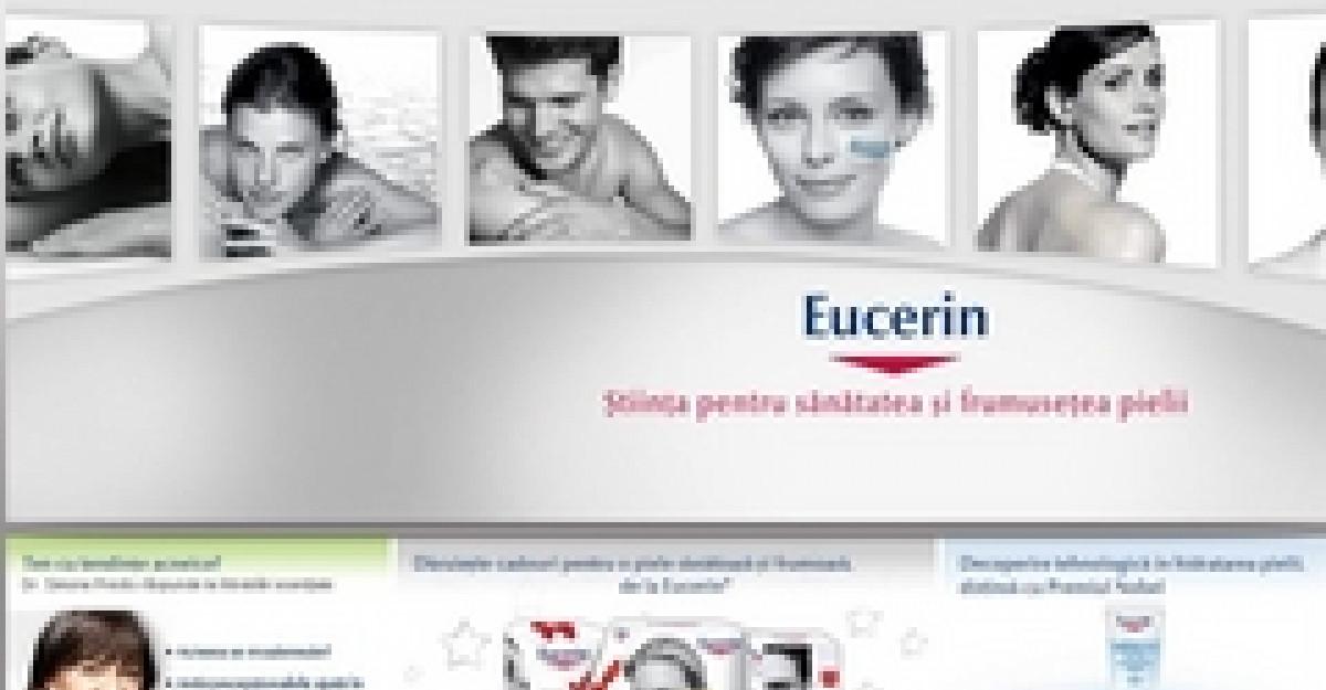 Eucerin lanseaza www.eucerin.ro - afla mai multe despre pielea ta direct de la specialisti
