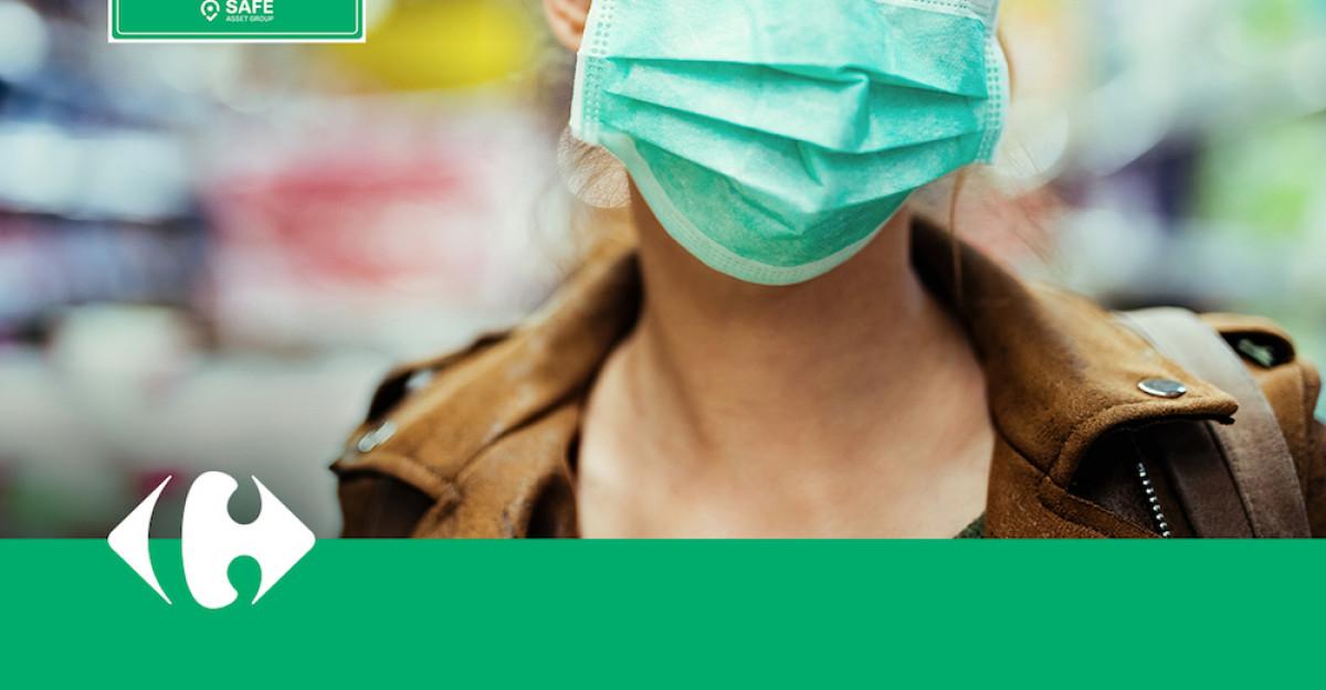 Magazinele Carrefour, la standarde internaționale de siguranță împotrivaCOVID-19