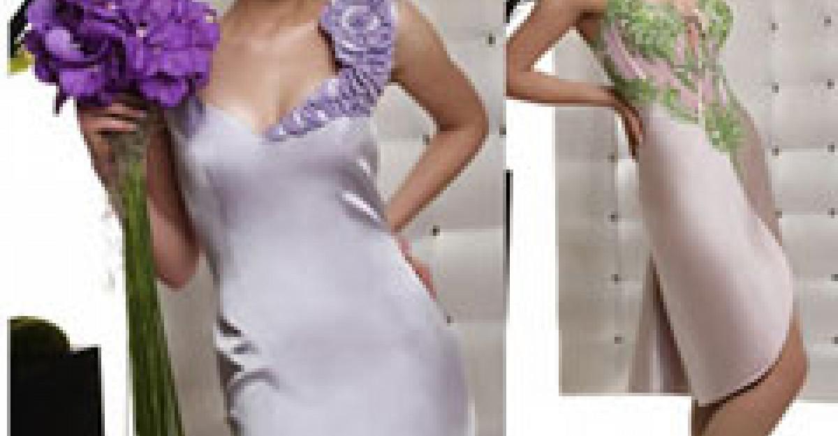 Rochii cu model floral pentru Cununia Civila