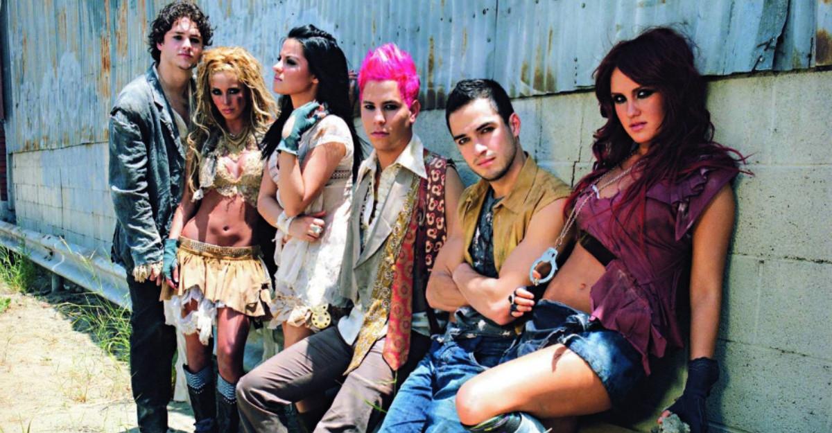Muzica trupei fenomen RBD este disponibila online