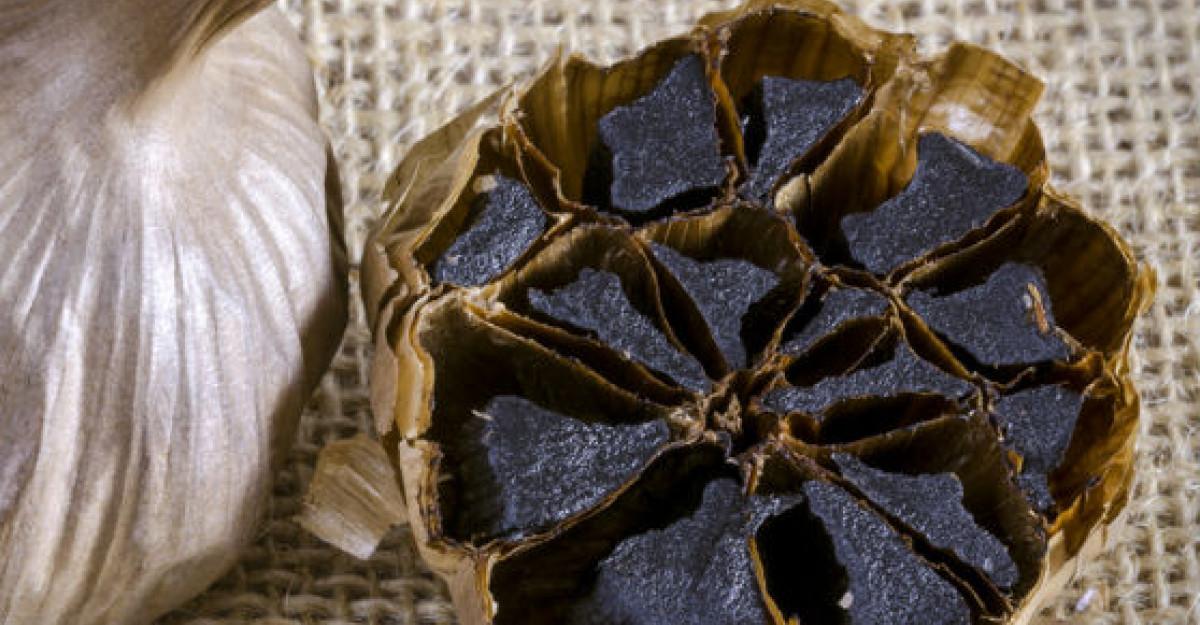 Acesta este usturoiul negru. Leguma miraculoasa cu efecte fantastice asupra sanatatii