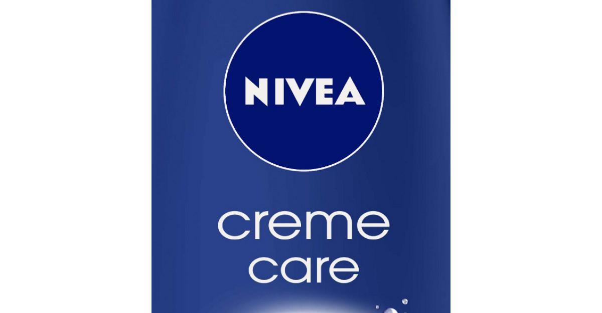 Cutiuta albastra de crema NIVEA Creme ia o noua forma: NIVEA Creme Care, gel de dus