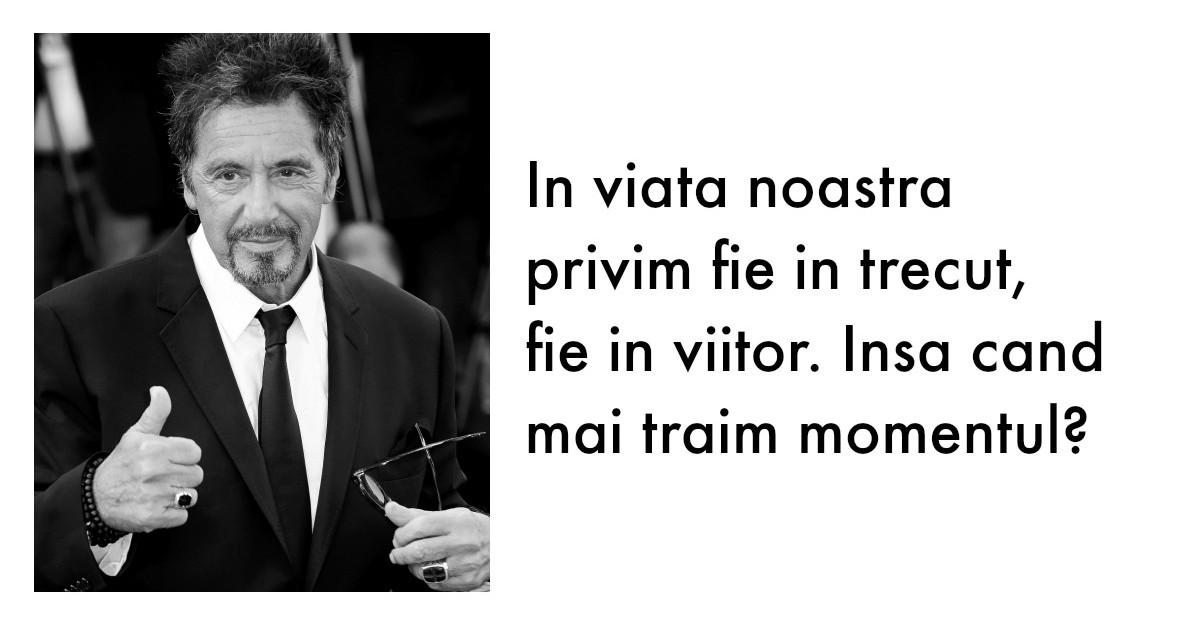 Al Pacino: In viata inveti cele mai frumoase lectii cand incepi sa pierzi