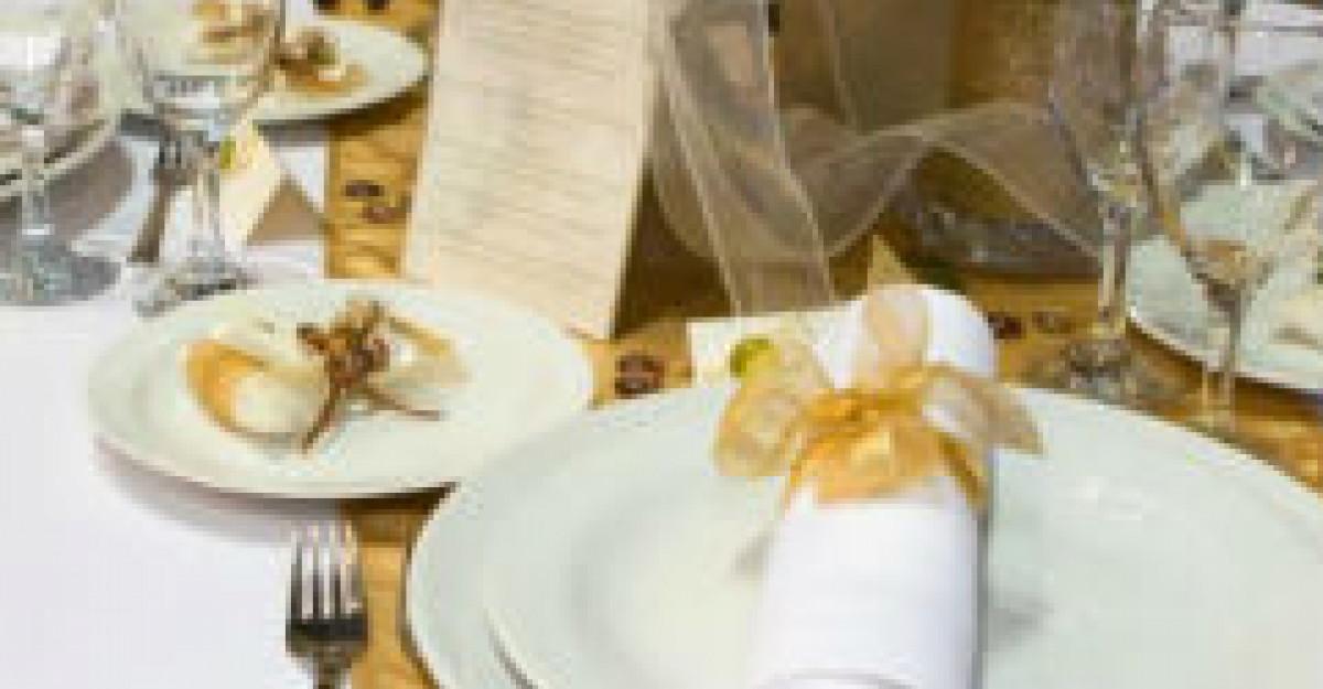 5 Decoratiuni de nunta in trend pentru 2012