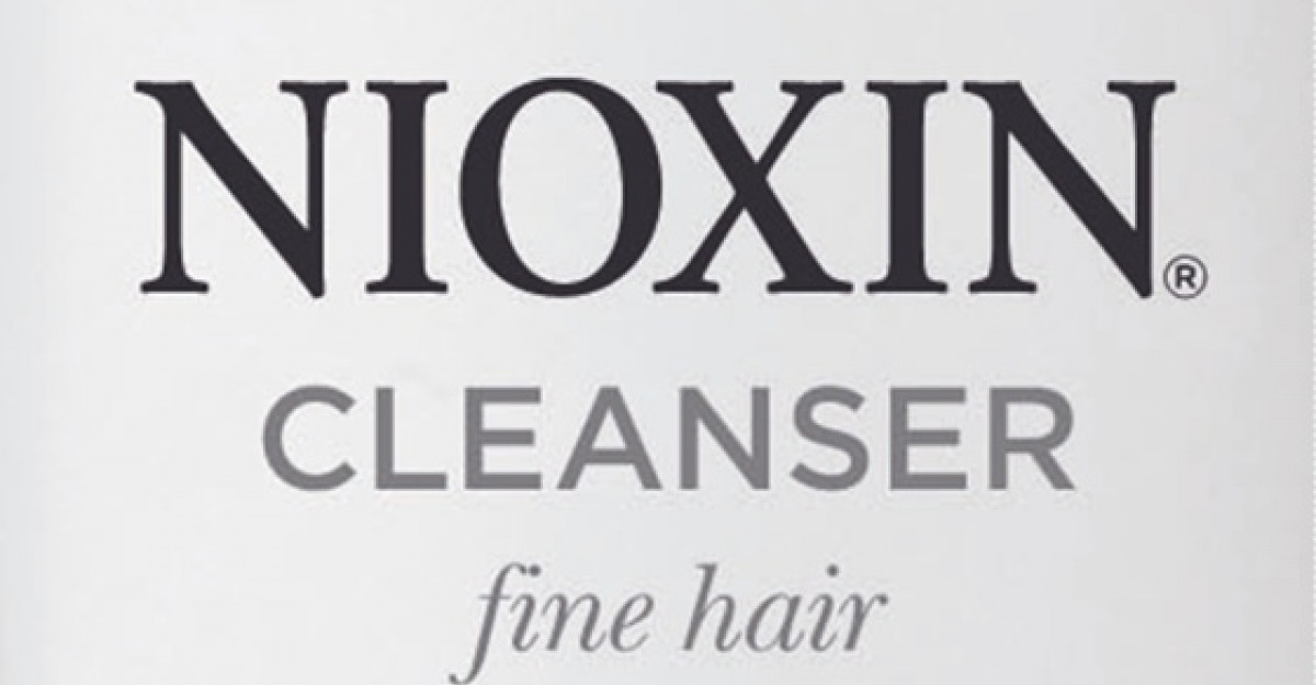 Un nou sampon Nioxin pentru par vopsit