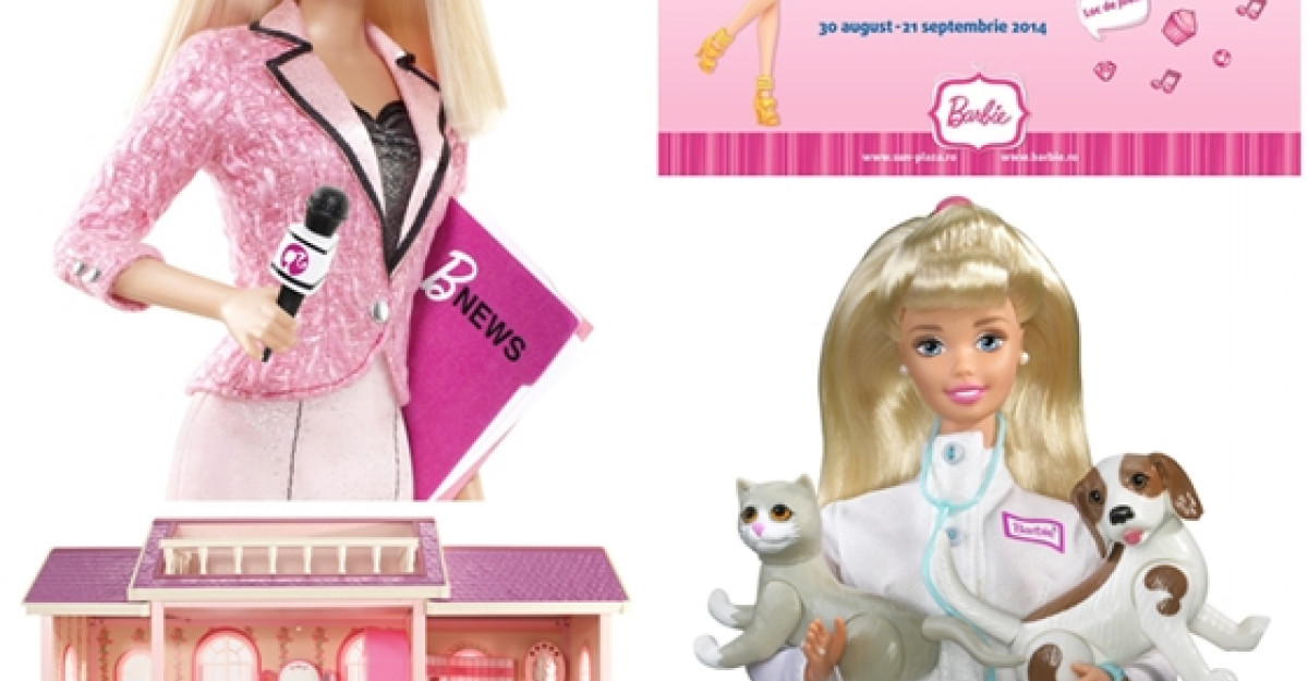 Universul Barbie la Sun Plaza!