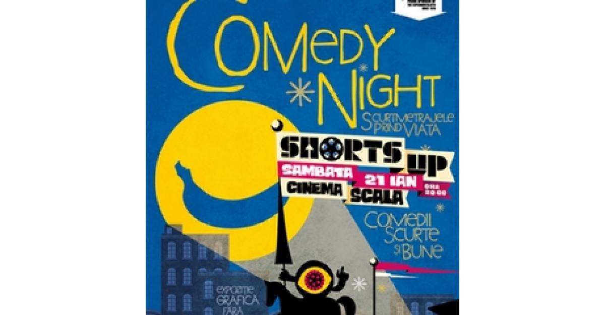 Seara de comedii scurte si premiate la ShortsUP in ianuarie