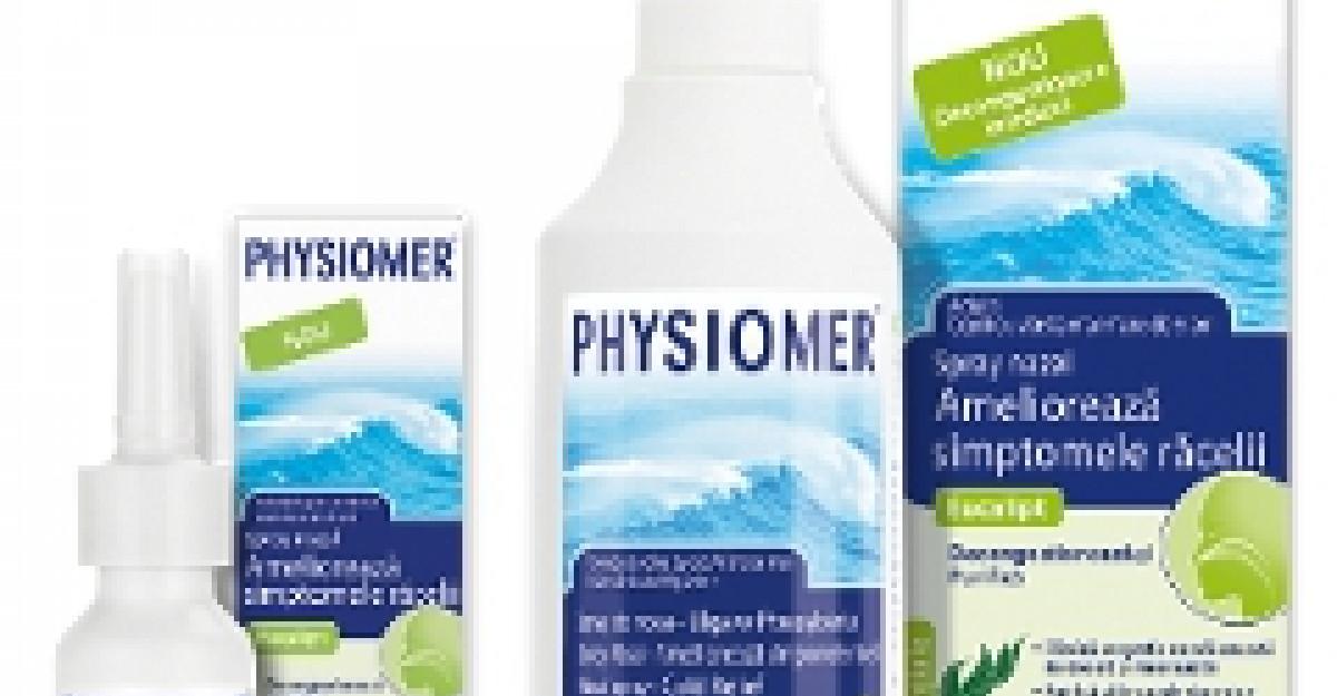 (P) Nou! Physiomer Eucalipt - Solutia 100% naturala pentru desfundarea cailor nazale, fara efecte secundare