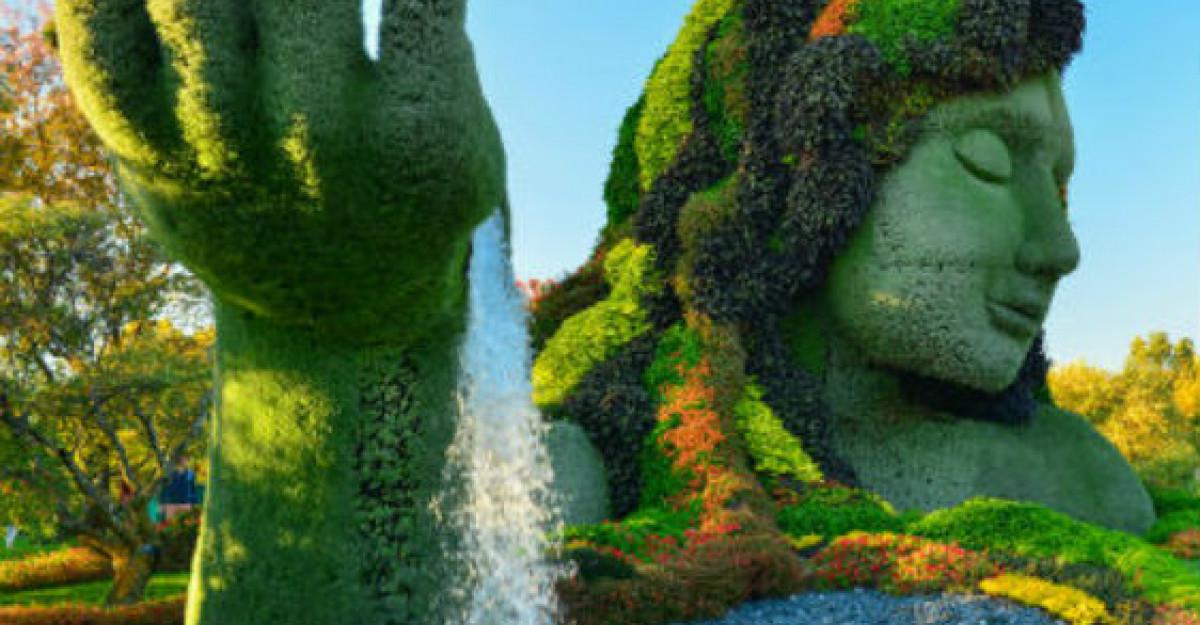 Galerie foto: Asa arata cea mai frumoasa gradina din lume
