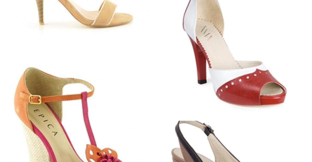 Chic la inaltime: Sandale cu toc pentru vara 2013