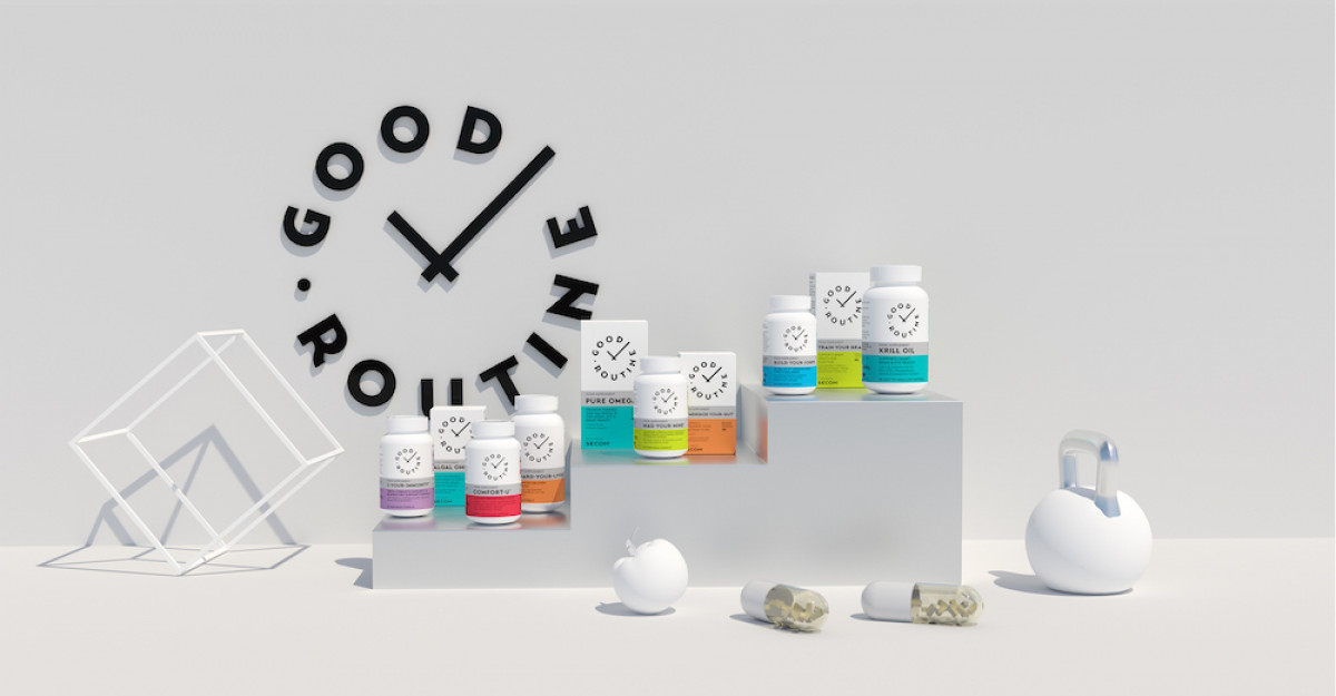 Secom® lansează Good Routine®,primul brand privat de suplimente alimentare din portofoliu