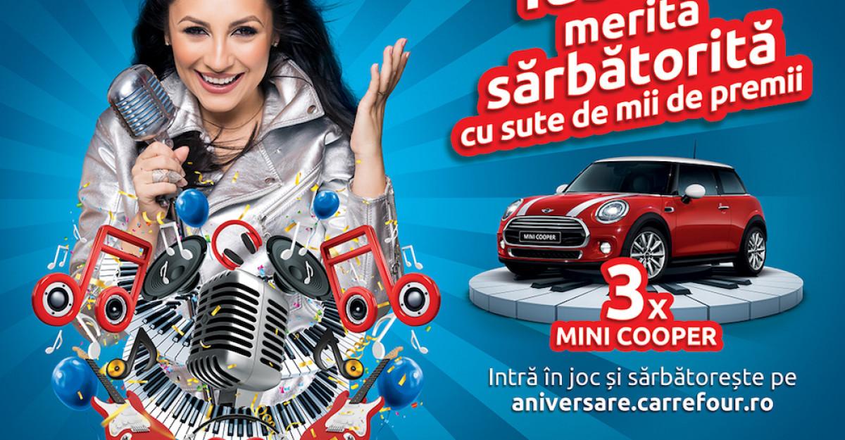 Carrefour sărbătorește 18 ani de activitate în Româniaalături de Andra