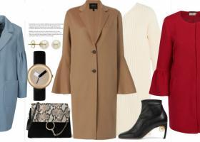 Paltoane cu maneci clopot sau tip balon - stil retro sau de inspiratie vintage