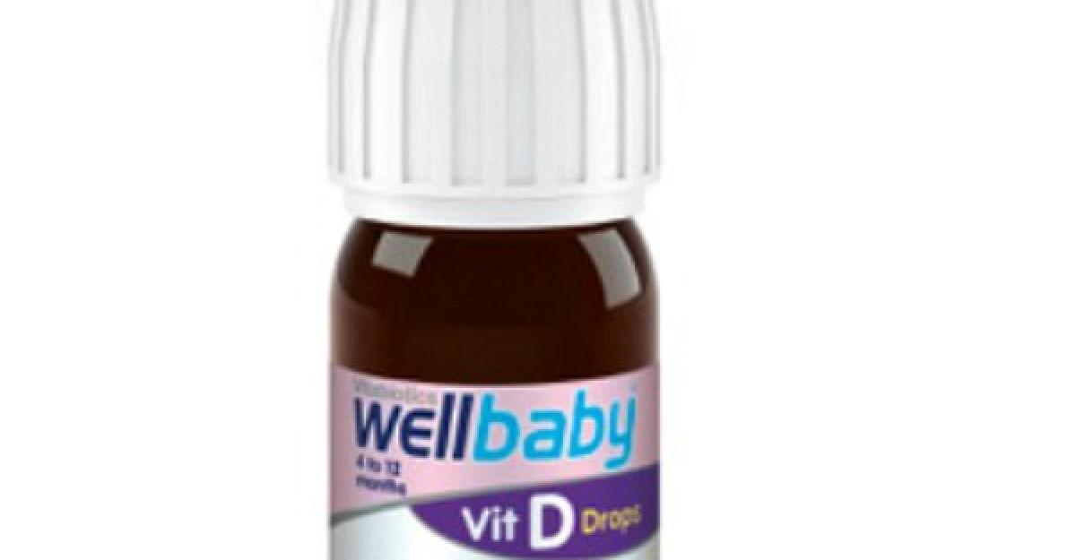 Wellbaby vitamina D – suport in dezvoltarea armonioasa a micutilor