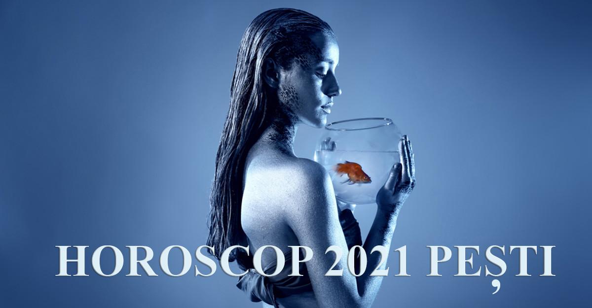 Horoscop 2021 Pești: ușile se deschid, lasă iubirea și succesul să pătrundă