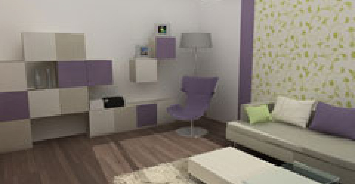 Apartament amenajat intr-un stil fresh