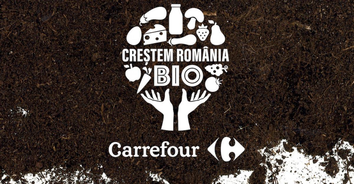 Carrefour lansează a doua ediție a programului CREȘTEM ROMÂNIA BIO