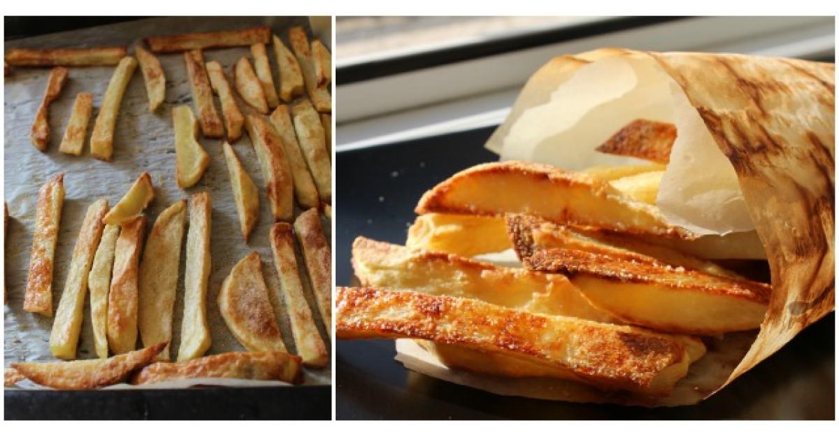 Cum sa faci cei mai buni cartofi pai crocanti fara a ii praji?